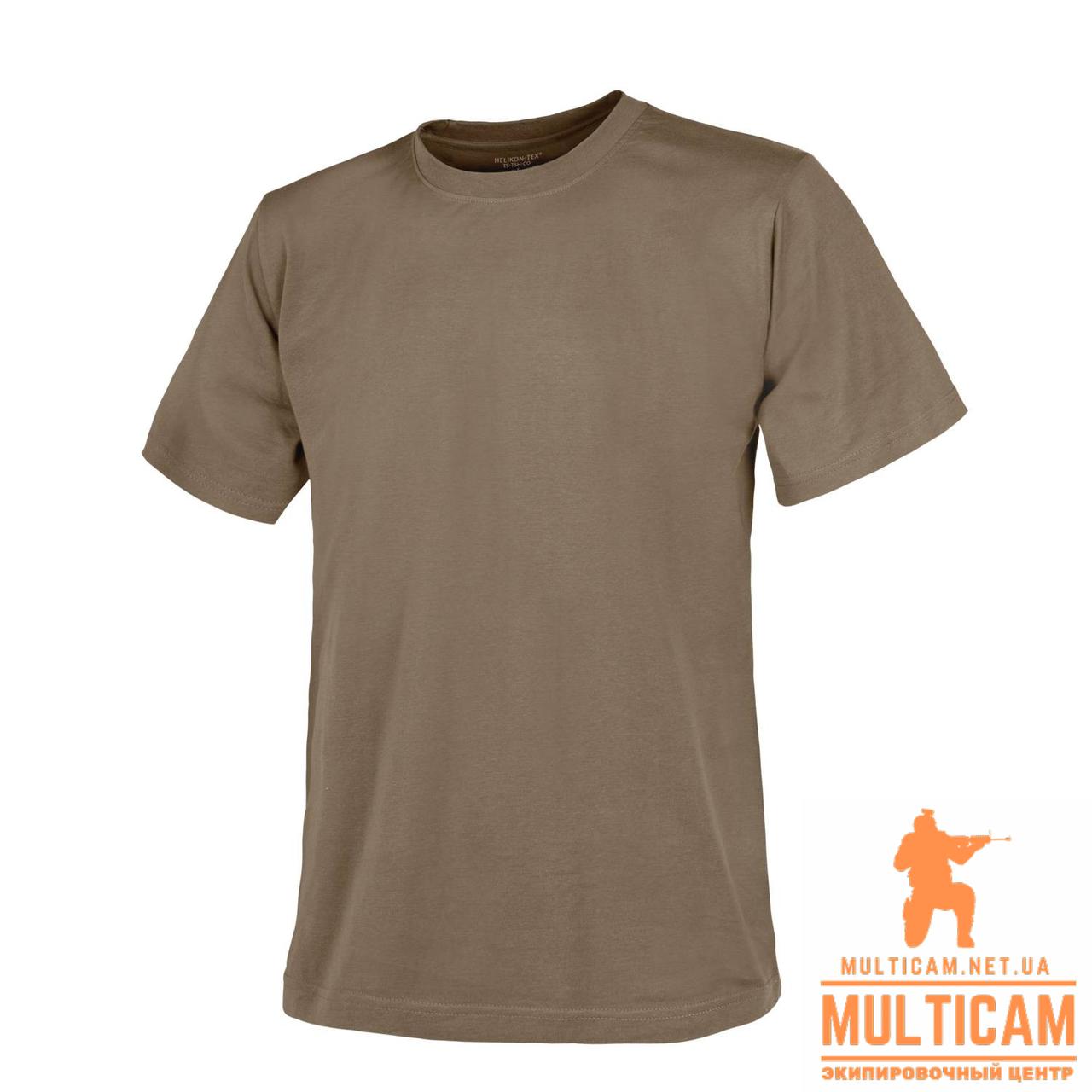 Футболка Helikon-Tex® T-Shirt - Cotton - US Brown