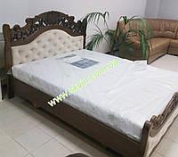 Деревяне ліжко Корона від виробника.