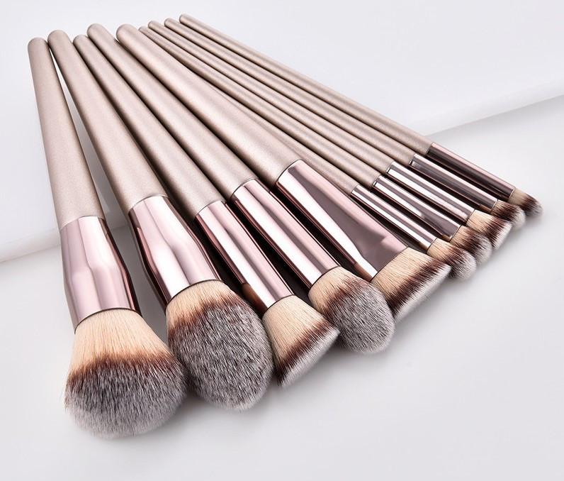 Набор кистей для макияжа 10 шт Rozi Light оригинал