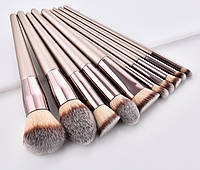 Набор кистей для макияжа 10 шт Rozi fansi Light оригинал