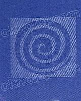 Тканевая ролета Икея 1804 синий открытая система, 400*1650 мм