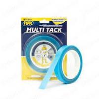 Лента двухсторонняя HPX MULTI TACK 19 мм х 5 м прозрачная (блистер) MTT1905