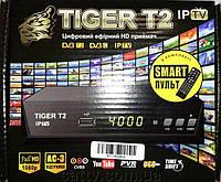 Тюнер Tiger T2 iPTV smart пульт.