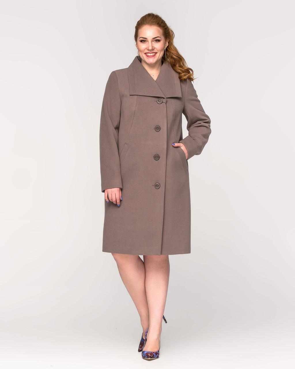 Женское пальто с 52 по 64 р. Весна 2020