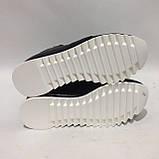 40 р. Женские ботинки весенне/осение на низком ходу черные красивые модные Последняя пара, фото 8