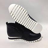 40 р. Женские ботинки весенне/осение на низком ходу черные красивые модные Последняя пара, фото 6