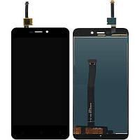Дисплей Redmi 4X черный | LCD экран, тачскрин | XIAOMI | Модуль в сборе