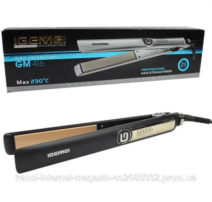 Випрямляч для волосся Gemei GM-416