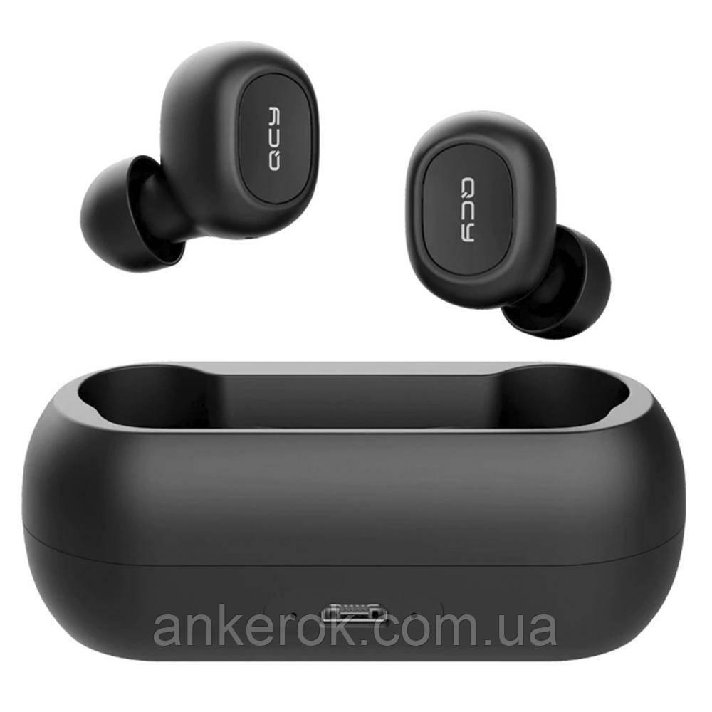 Навушники TWS (повністю безпровідні) QCY T1 (Black)