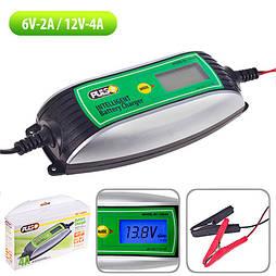 Зарядное устр-во PULSO BC-10640 6-12V /0.8-4.0A/1.2-120AHR/LCD/Импульсное