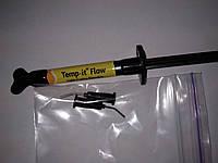 Светоотверждаемый временный пломбировочный материал Temp it Flow, шприц 1.2мл срок 02.2020