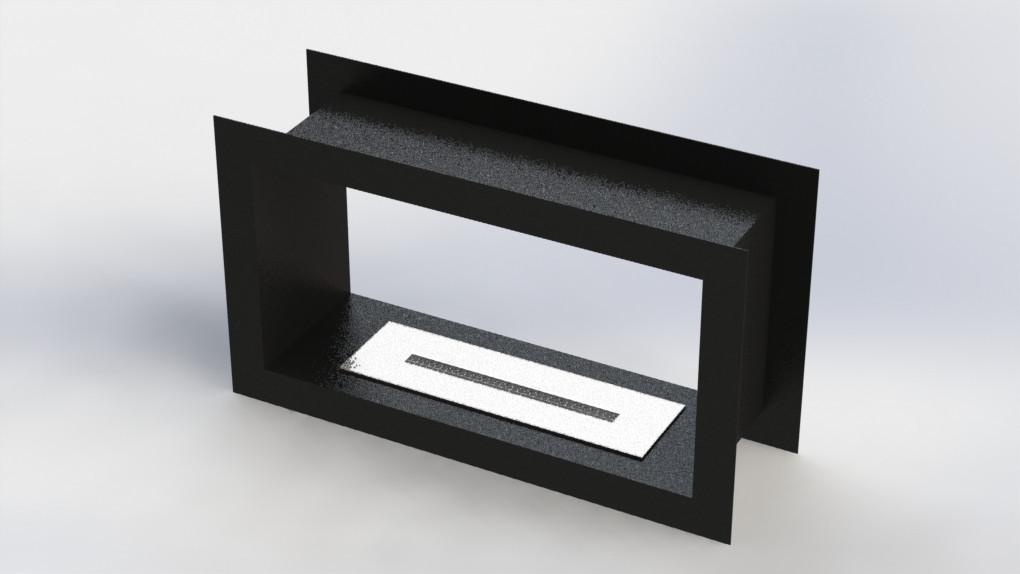 Биокамин индивидуальное производство камин дв 500 мм.  дизайн интерьер 2