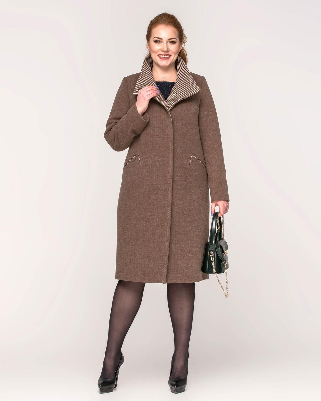 Модне пальто весна 2020 з 48 з 60 розмір