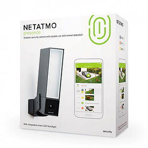 Умная камера наружного наблюдения Netatmo Presence