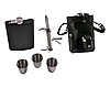 Подарочный набор с Флягой, рюмками и ножом