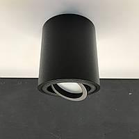 Накладной поворотный светильник Feron ML302 под лампу MR16 GU10 (черный), фото 1