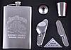 Набор с флягой и раскладным ножом для мужчин в коробке