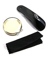Подарочный набор для чистки обуви в футляре (12х10х4,5 см), фото 1