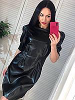 Платье кожаное по фигуре разные цвета, фото 1