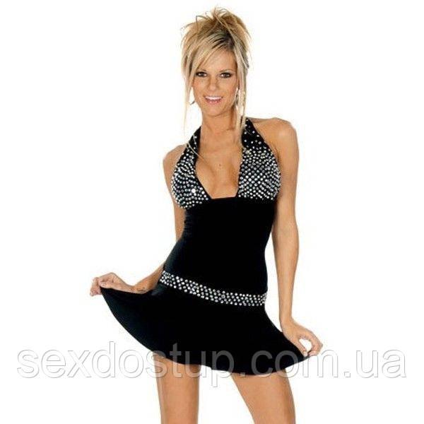 Задорное мини-платье