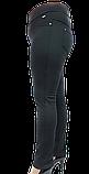 Брючні жіночі лосини на флісі великих розмірів, фото 3