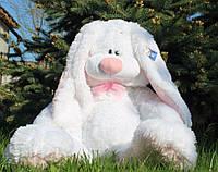 Мягкая ирушка зайка.Игрушка Кролик 75 см.Милые мягкие игрушки.Купить зайку. Белый