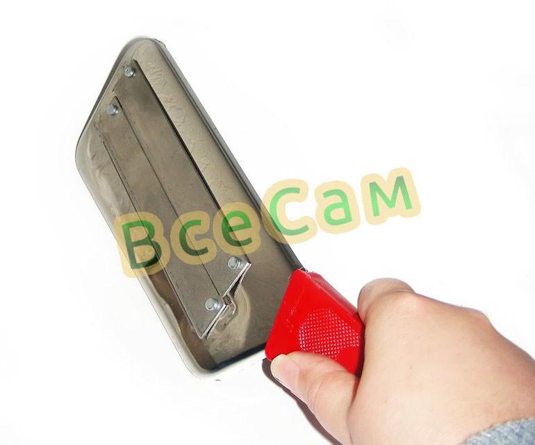 Нож топор для шинковки капусты 30 см 3