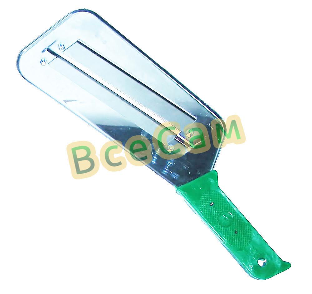 Нож топор для шинковки капусты 30 см 4