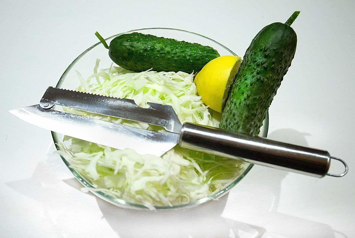 Нож для шинковки капусты, нарезки рыбы, овощей, фруктов «Рома&ra 4