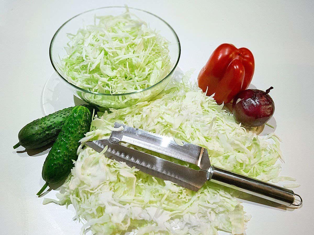 Нож для шинковки капусты, нарезки рыбы, овощей, фруктов «Рома&ra 6