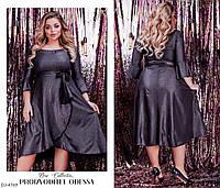 Красивое женское платье батал,размеры 48-62,арт 1292