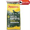 Сухой корм (Josera Ente & Kartoffel) с уткой и картофелем, без злаков для взрослых собак всех пород  15 кг