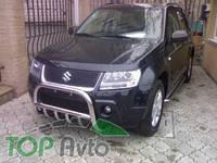 UA Tuning Защита передняя Suzuki Grand Vitara 3D/5D 2005-2012- (кенгурятник d 60)