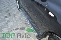 UA Tuning Пороги Honda Pilot (алюминиевый профиль)