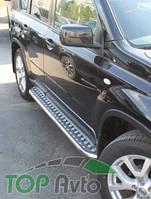 UA Tuning Пороги  Nissan X-Trail (T31) 2007-2014 (труба d 42 с листом)
