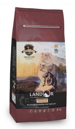 Landor (Ландор) Indoor Cat сухой корм для кошек, живущих в помещении