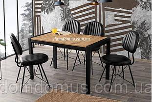 Набор офисной мебели TUGRA masa (черный метал корпус, деревянная столешница) / AHTAP  Mobilgen, Турция