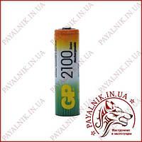 Аккумулятор GP Ni-MH AA HR6 1.2V 2100mAh (1шт.)