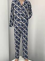 Пижама мужская теплая хлопок