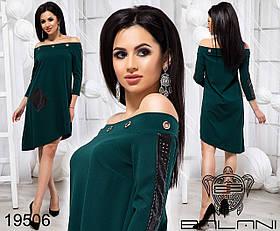 Стильное платье свободного кроя - 19506