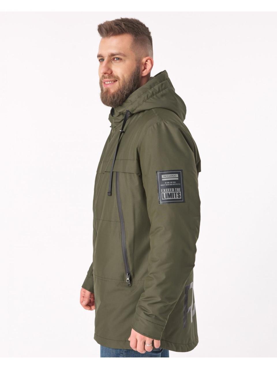 Мужская демисезонная куртка Riccardo CN Хаки