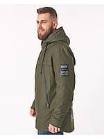 Мужская демисезонная куртка Riccardo CN Хаки, фото 1