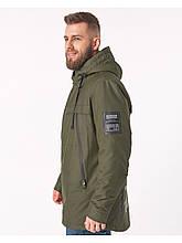 Чоловіча демісезонна куртка Riccardo CN Хакі