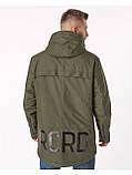Мужская демисезонная куртка Riccardo CN Хаки, фото 2