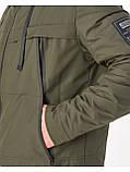 Мужская демисезонная куртка Riccardo CN Хаки, фото 3