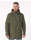 Мужская демисезонная куртка Riccardo CN Хаки, фото 4