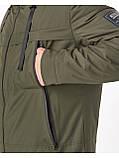 Мужская демисезонная куртка Riccardo CN Хаки, фото 5