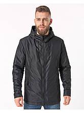 Чоловіча демісезонна куртка Riccardo CN Чорний