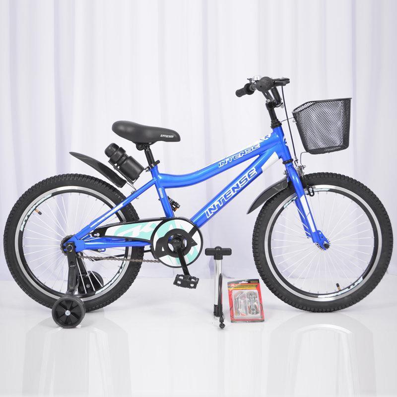 Детский двухколесный велосипед INTENSE N-200 голубой 20 дюймов