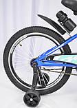 Детский двухколесный велосипед INTENSE N-200 голубой 20 дюймов, фото 3